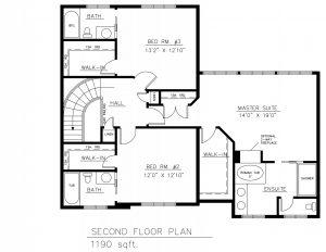 Oaklands A Upper Floor